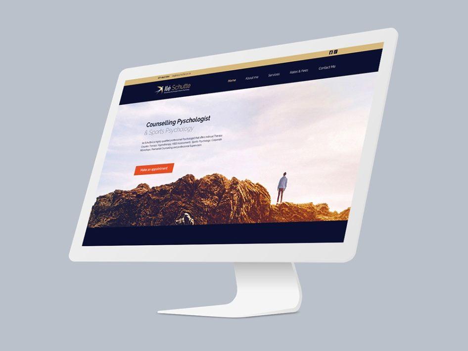 Ile Schutte Psychology Website Design