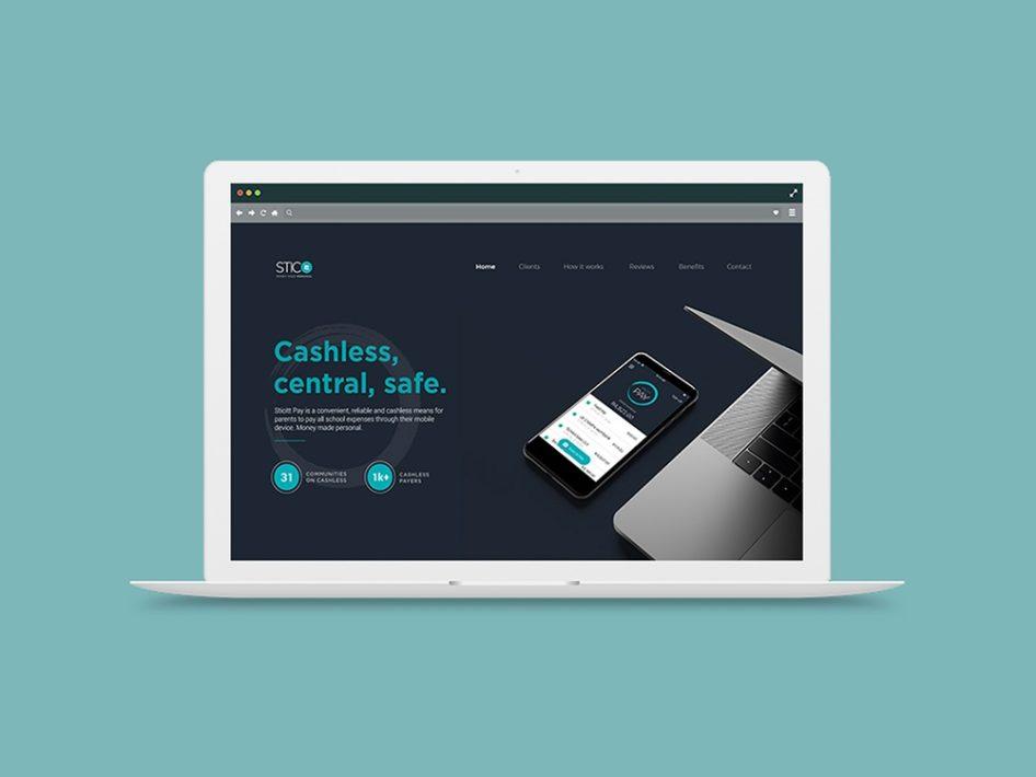 Sticitt Website Design