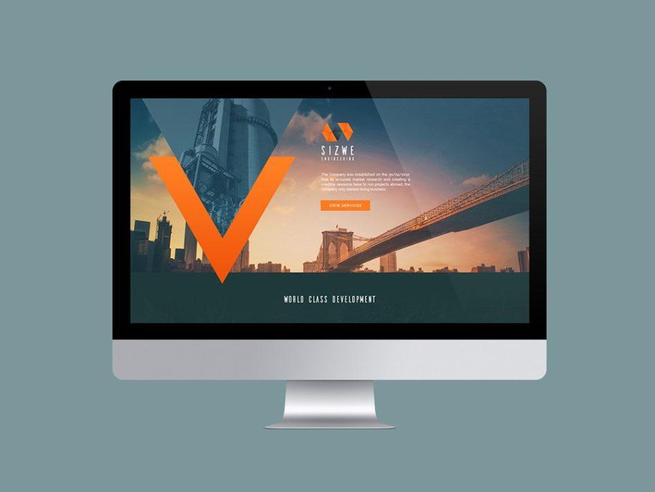 Sizwe Engineering Website Design