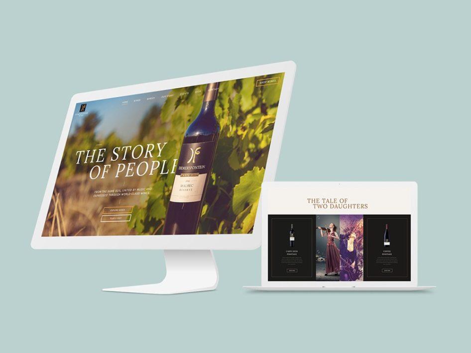 Diemersfontein Website Design