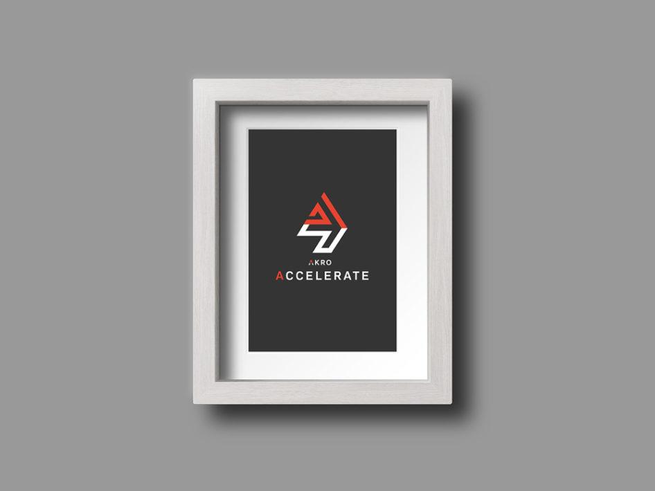 Akro Accelerate Logo Design