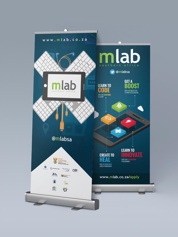 mLab Southern Africa Banner Design