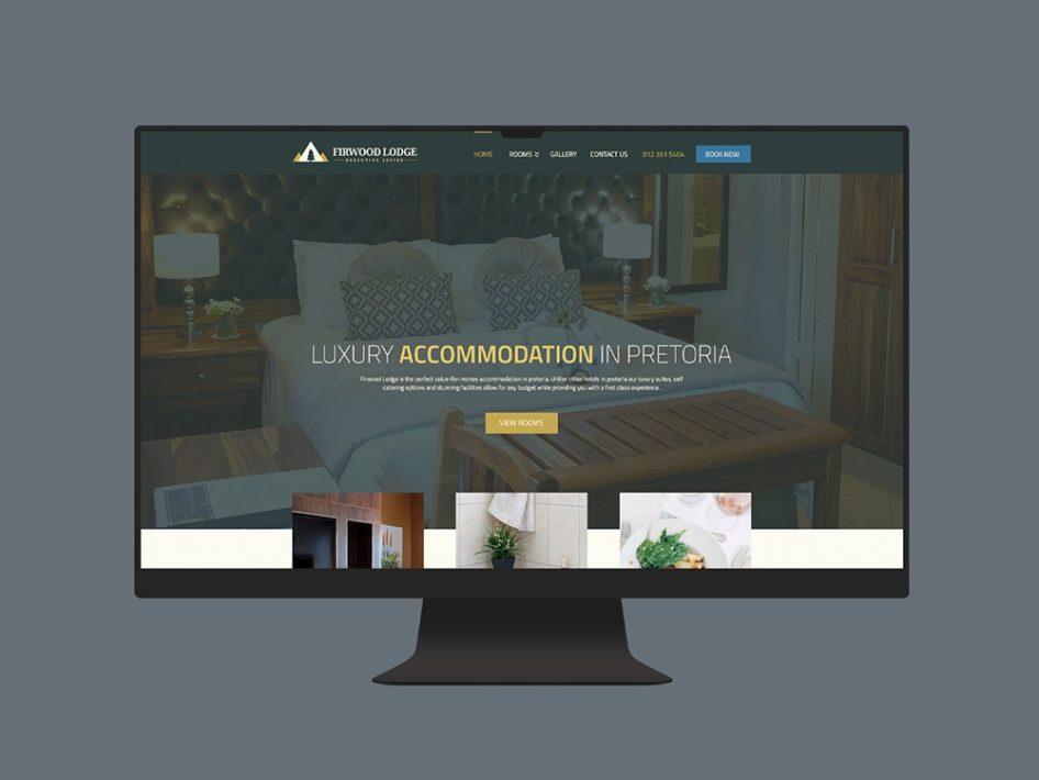 Firwood Lodge Website Design