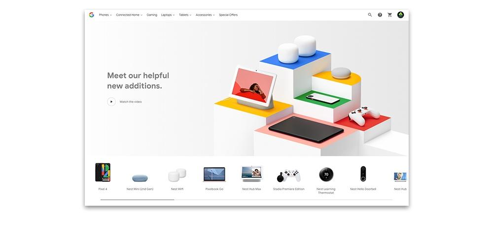 Google US store website